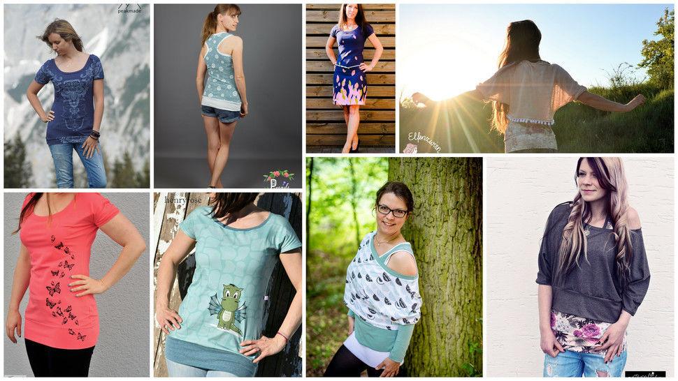 Sommerkäfa 32-48 Shirt, Top, Oversize  bei Makerist - Bild 1