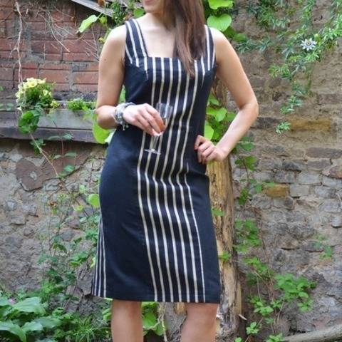 PDF sewing pattern E-Book Shift-Dress with instructions