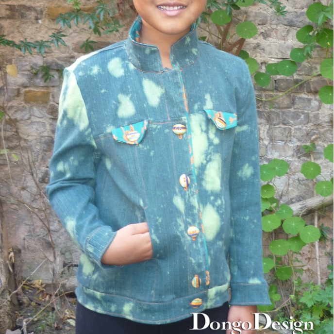 PDF sewing pattern E-Book Simone  with Sewing instructions