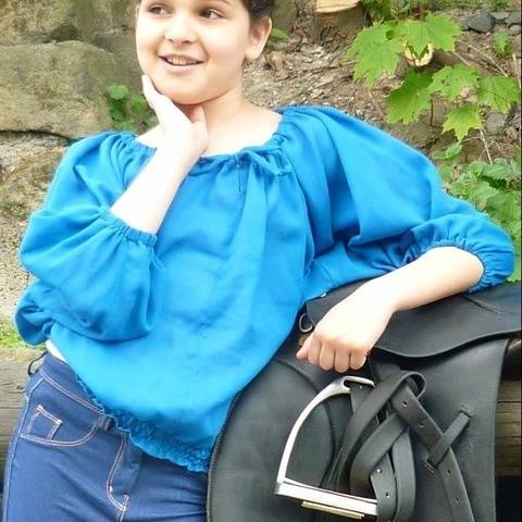 PDF sewing pattern E-Book Carmen with Sewing instructions