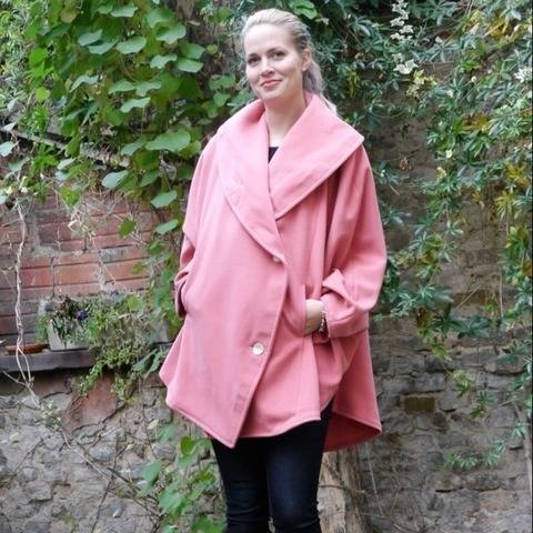 PDF sewing pattern EBook Cape  with Sewing instructions