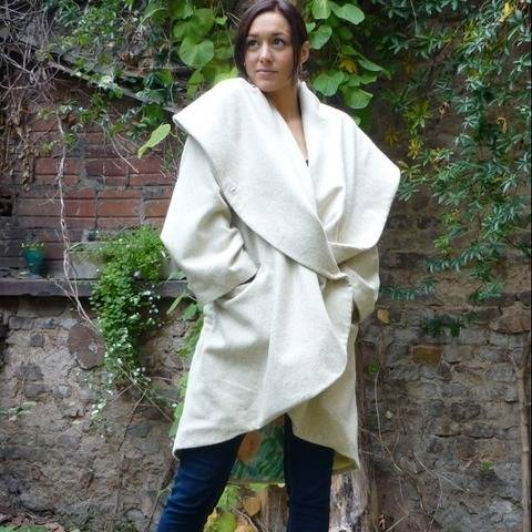 PDF sewing pattern EBook O-Coat  with Sewing instructions