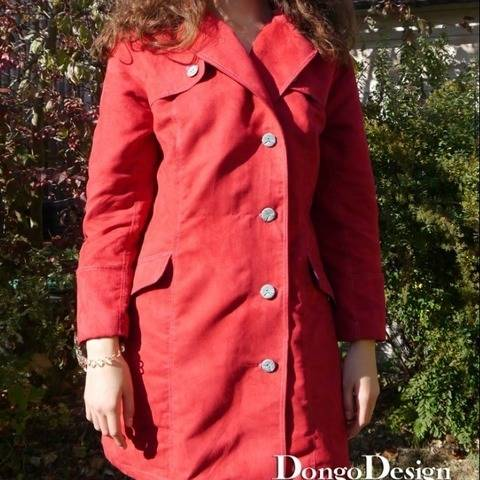 PDF sewing pattern E-Book Trench-Coat Bougie