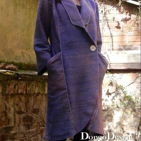 PDF sewing pattern E-Book Coat New Wave