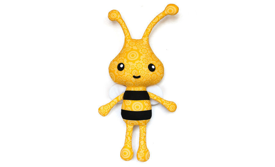 Bam Bam the Bee sewing pattern at Makerist - Image 1