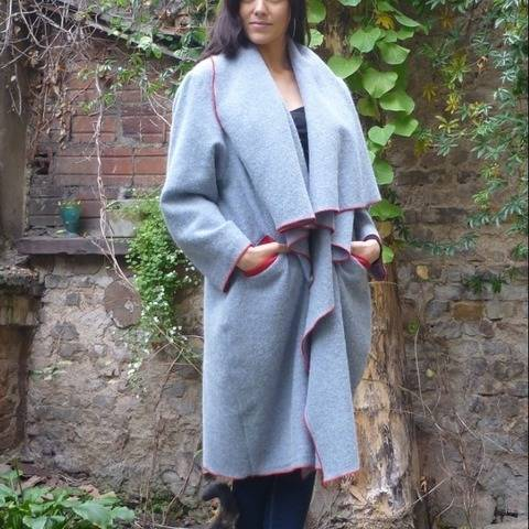 PDF sewing pattern EBook Shell Coat  with instructions
