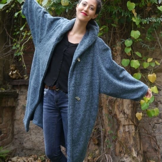 PDF sewing pattern Ebook Pompel Coat with instructions at Makerist - Image 1
