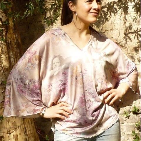 PDF sewing pattern E-Book Jersey-Angel with  instructions