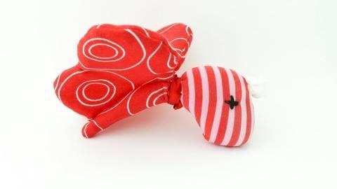 Schnittmuster + Nähanleitung Schmetterling (Babyrassel) bei Makerist