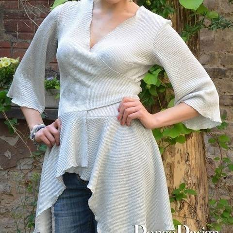 PDF sewing pattern EBook Ellen with Sewing instructions