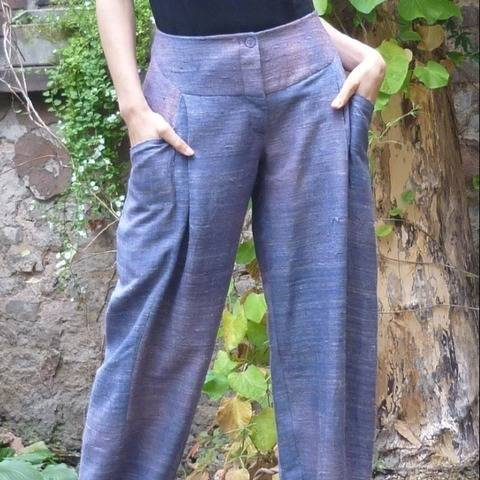 PDF Sewing Pattern Ebook Pants Lisa with sewing instructions