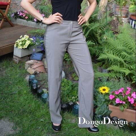 PDF Sewing Pattern Ebook Business-Trousers with instructions