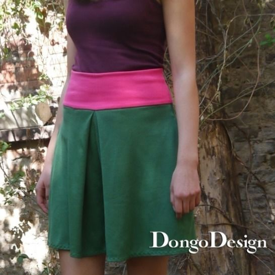 PDF Sewing Pattern Ebook Culotte Nina with instructions at Makerist - Image 1