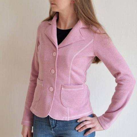 Ebook Schnittmuster Lady Grace Sweatblazer Blazer Gr.32-50 bei Makerist
