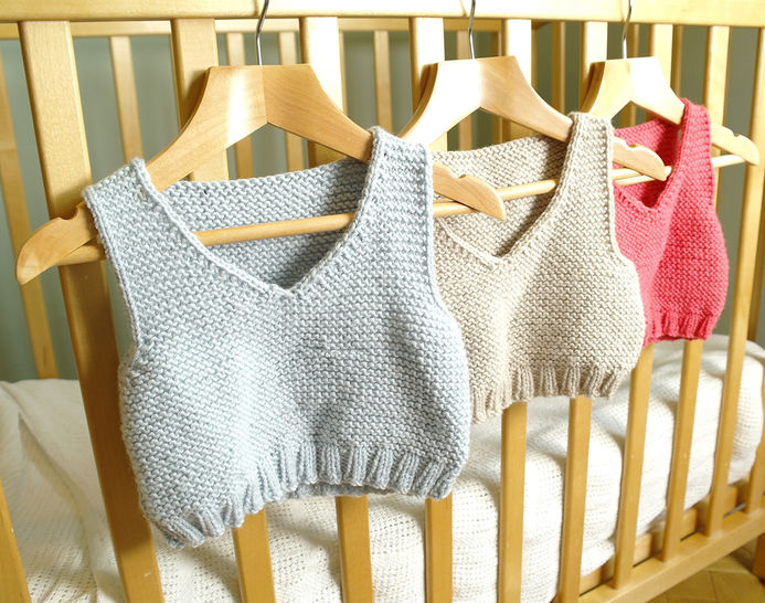 Easy baby vest / body warmer at Makerist - Image 1
