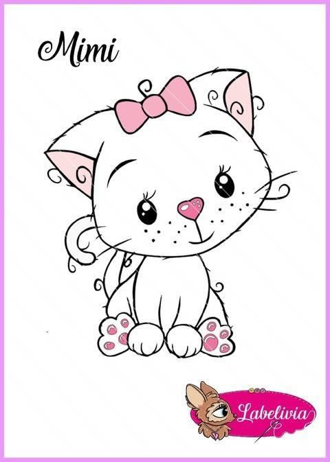 Plotterdatei Katze Mimi