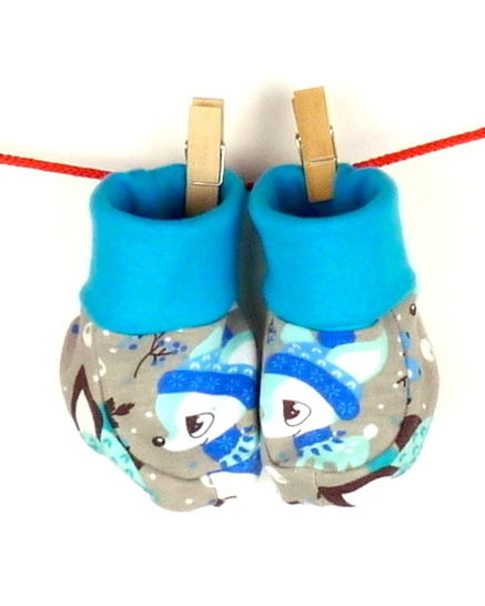 baby slippers - Sewing pattern with tutorial KRONO at Makerist - Image 1