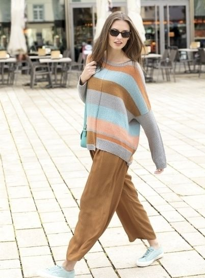 Oversize-Pulli im Colourblocking bei Makerist - Bild 1