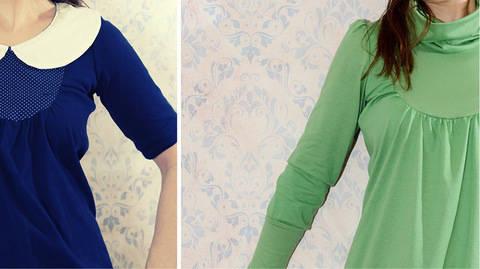 Ebook Kleid Umstandskleid ALBA Gr. 34 - 50 bei Makerist