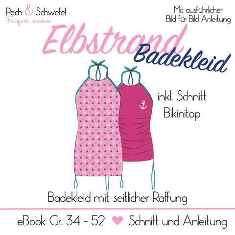 "Ebook Elbstrand ""Badekleid"" Damen Gr. 34 – 52 in A4  bei Makerist"
