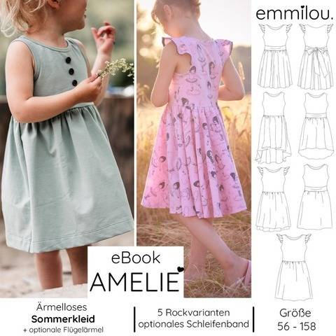 "eBook Sommerkleid ""Amelie"" Gr. 56-158 bei Makerist"