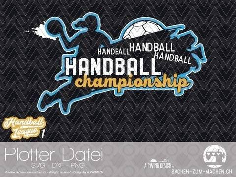 "Plotter-Datei ""Handball League"" #1"