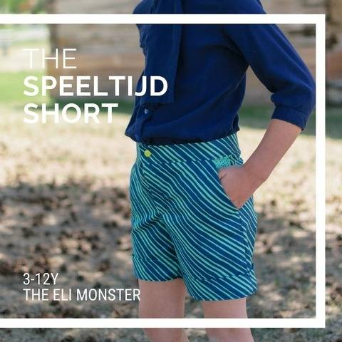 The Speelitjd Shorts Sewing Pattern for Sizes 3-12y
