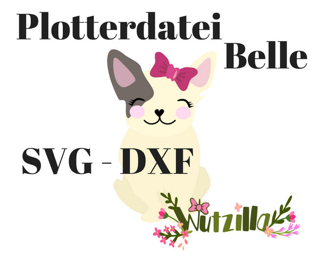 Bully Belle Plotterdatei bei Makerist - Bild 1