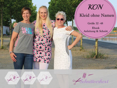 "Ebook ""KON"" – Kleid ohne Namen – Gr. 32 – 48 bei Makerist"