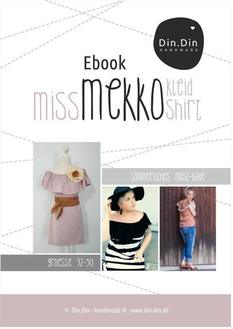 Ebook Miss Mekko Kleid, Shirt, Tunika Off-Shoulder Boho Hippi