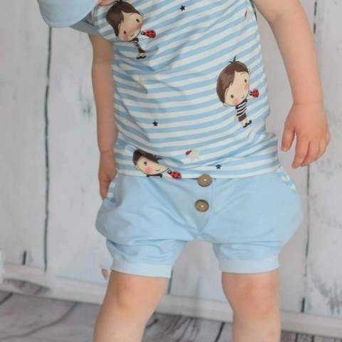 kurze Babyhose - Größen 62 bis 98 bei Makerist