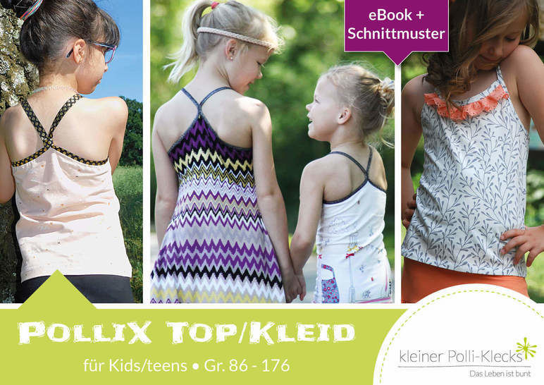 eBook PolliX Top/Kleid Kids Gr. 86 - 176 bei Makerist - Bild 1