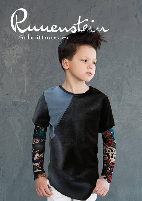 Baldur Shirt 116-146 Schnittmuster & Nähanleitung