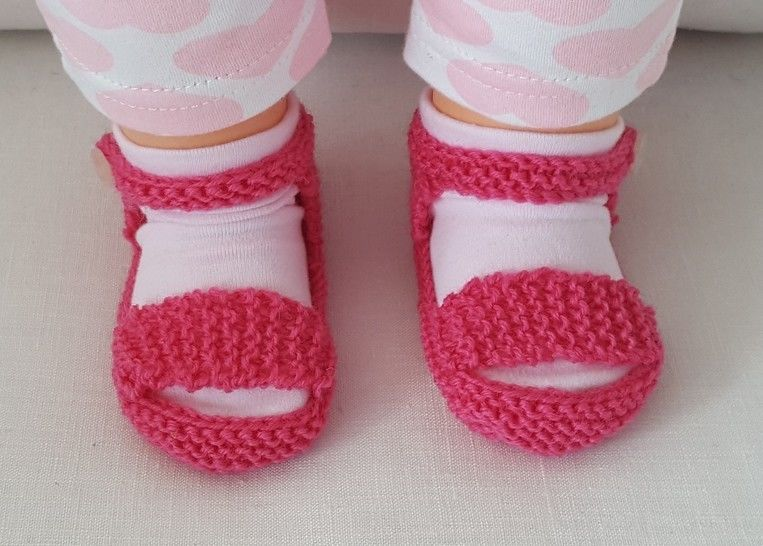 Baby sandals with optional T-bar - Anthea at Makerist - Image 1