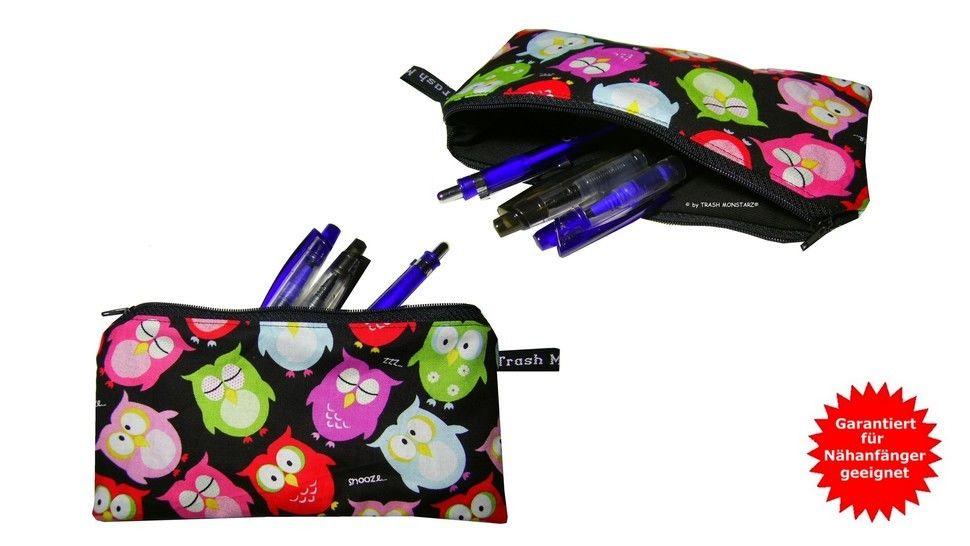 Tasche nähen, Stiftemäppchen - Nähanleitung bei Makerist - Bild 1