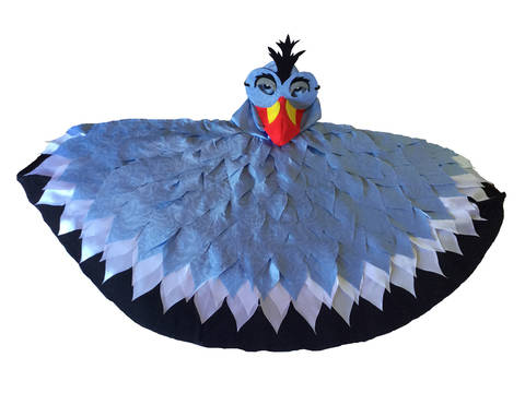 Bird Capes and Masks Pattern for ages 3 - 9. at Makerist