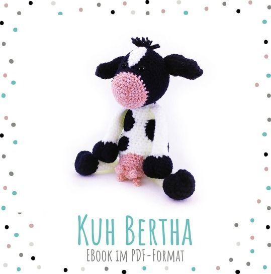 "Häkelanleitung Kuh ""Bertha"" bei Makerist - Bild 1"
