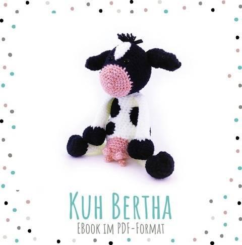 "Häkelanleitung Kuh ""Bertha"" bei Makerist"