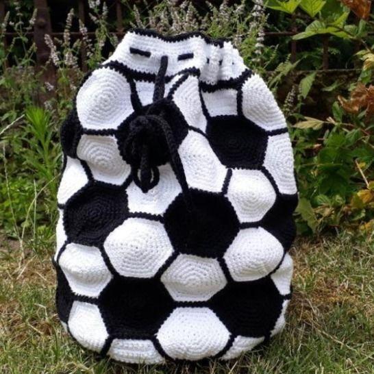 Fußball-Rucksack bei Makerist - Bild 1