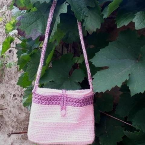Kinder-Tasche Pink-Star