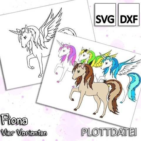 Fiona - Plottdatei (Horse, Pegasus, Unicorn, Alicorn)