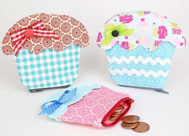 Nähanleitung Cupcake Geldbeutel bei Makerist - Bild 1