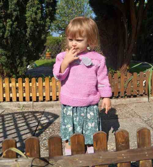 Kinderpulli unisize Herbstkollektion No.2 bei Makerist - Bild 1