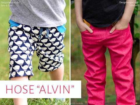 "Kinderhose ""Alvin"" Gr. 92 - 146 bei Makerist"