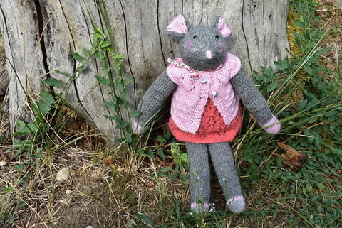 Mouse doll - woodland collection doll pattern