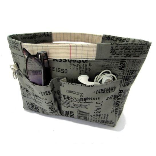 ORGANISATEUR DE SAC - Tutoriel de couture chez Makerist - Image 1