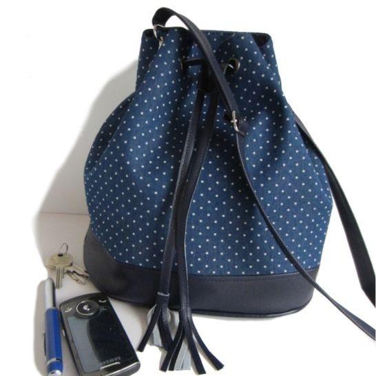 Tutoriel de couture sac seau Louise chez Makerist - Image 1
