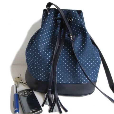 Tutoriel de couture sac seau Louise chez Makerist