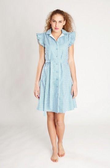 Nähanleitung und Schnittmuster Kleid Franzi bei Makerist - Bild 1