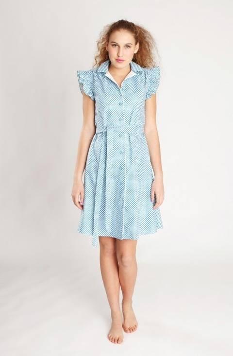 Nähanleitung und Schnittmuster Kleid Franzi bei Makerist